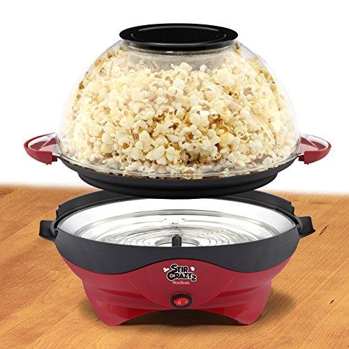 stir crazy popcorn maker review