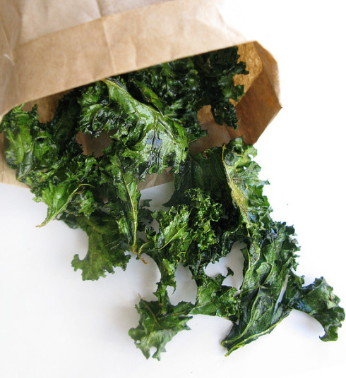 Lemony-Snickets Kale Chips recipe