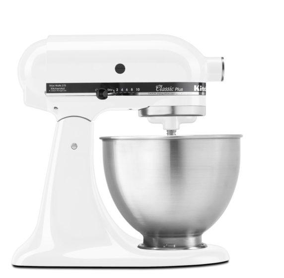 KitchenAid KSM75WH 4.5-Qt. Classic Plus Stand Mixer Review